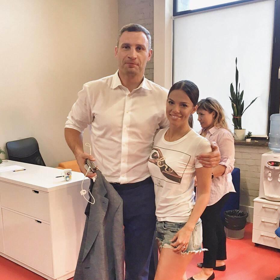 Ольга Торнер с Виталием Кличко. Фото: facebook.com/tornerolga