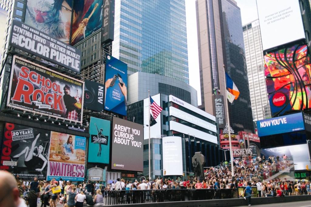 Нью-Йорк. Фото Елены Базу