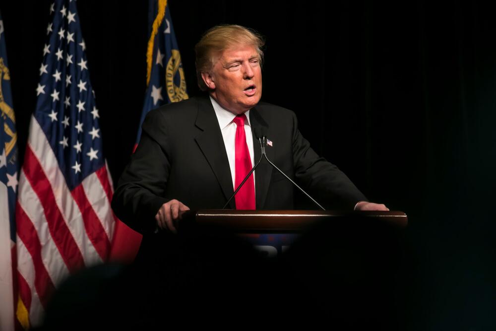 Кандидат в президенты США Дональд Трамп Фото: Depositphotos