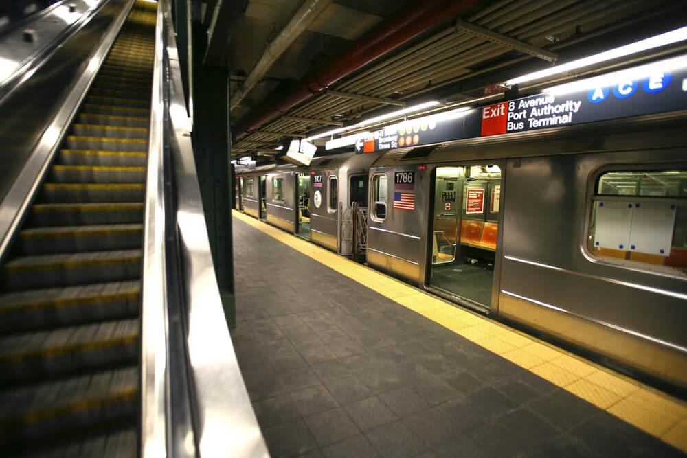 Нью-йоркское метро Фото: Depositphotos