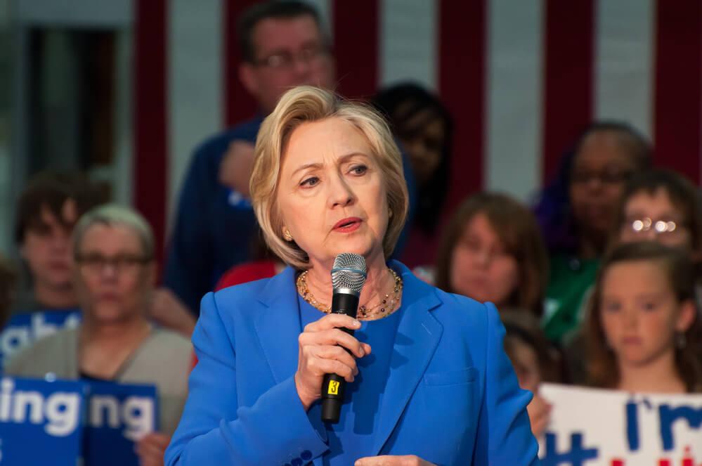 Кандидат в президенты США Хиллари Клинтон Фото: Depositphotos