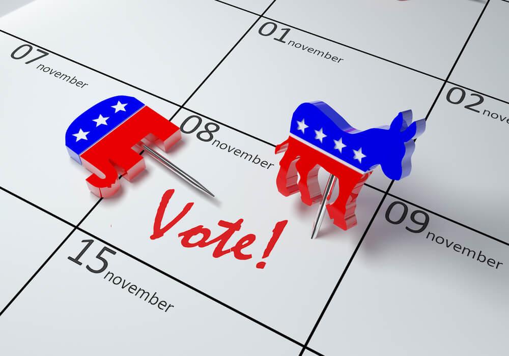 На востоке США голосование начнется ранним утром. Фото: depositphotos.com