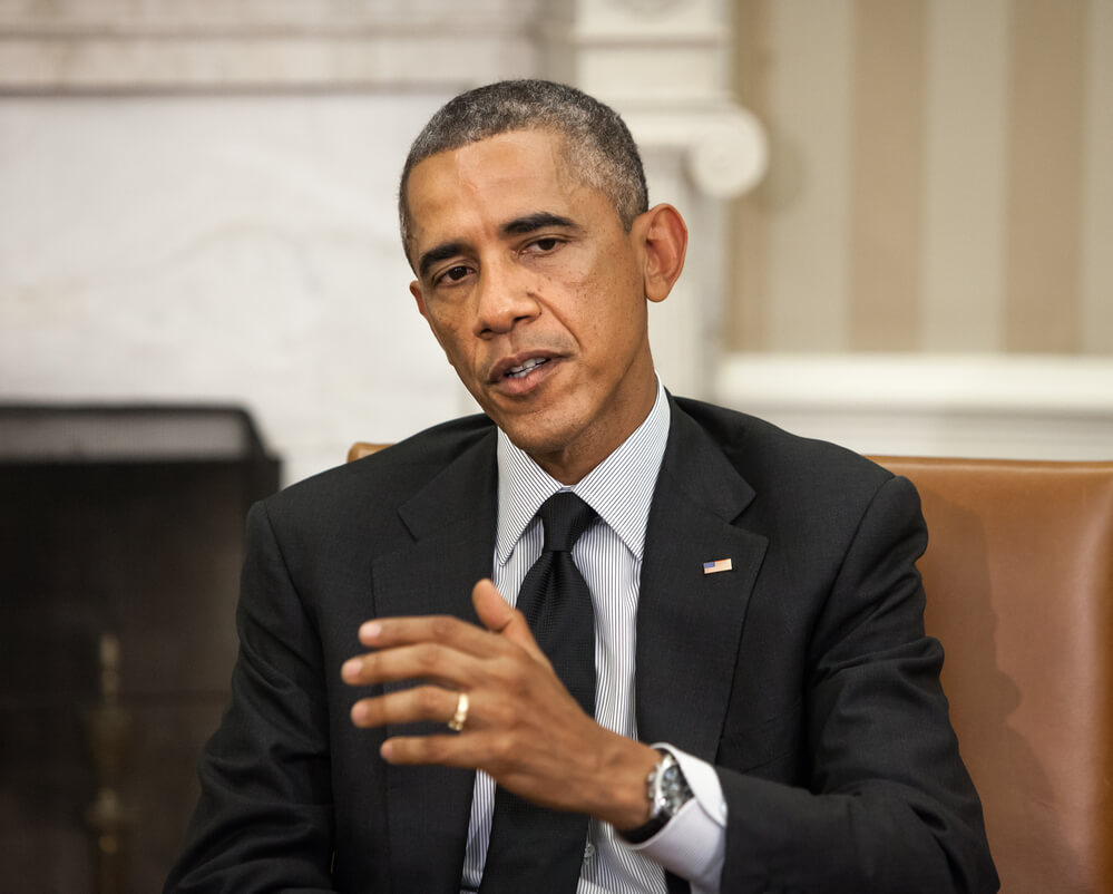 44-th President of the United States Barack Obama depositphotos
