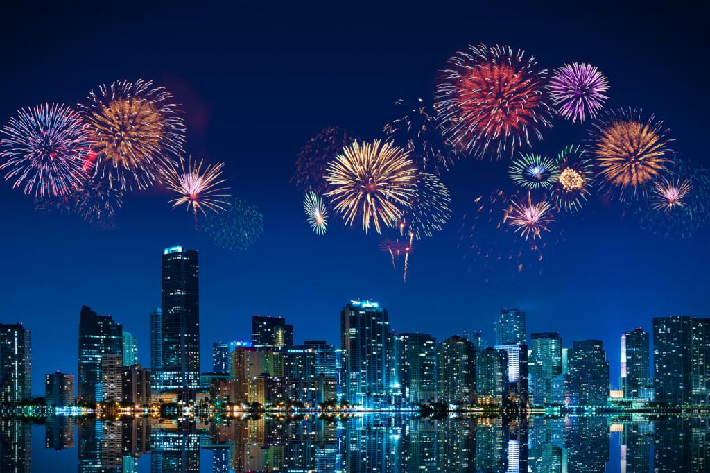 Майами - одно из лучших мест для встречи Нового года. Фото: depositphotos.com