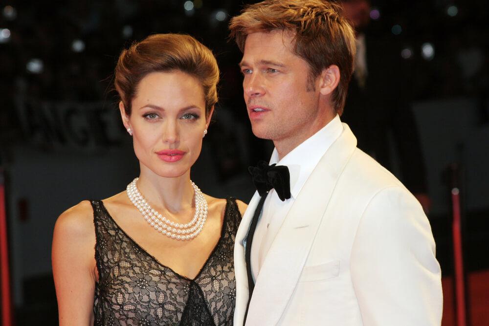 Голливудские актеры Анжелина Джоли и Брэд Питт Фото: depositphotos