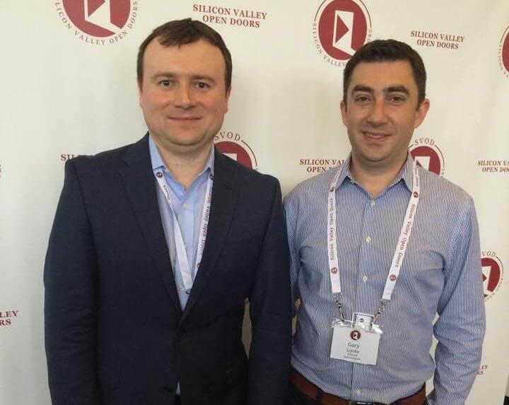 Андрей со своим партнёром Гарри Липски. Фото: из личного архива