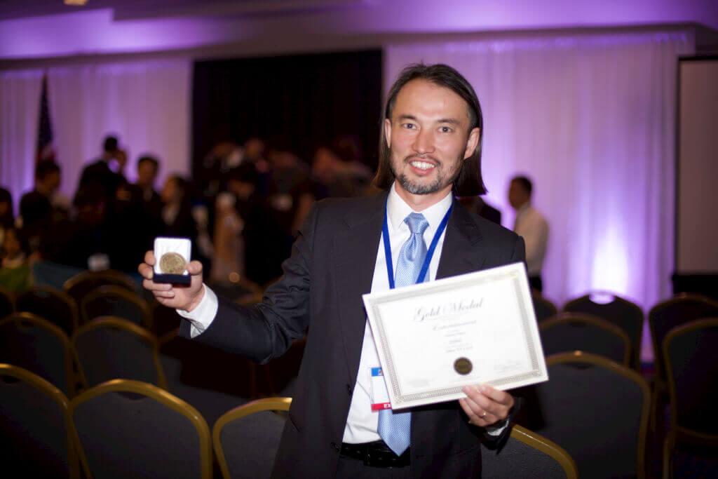 Абылай Оспан является выпускником химического факультета МГУ и основателем компании NetUP. Фото: из личного архива А. Оспана