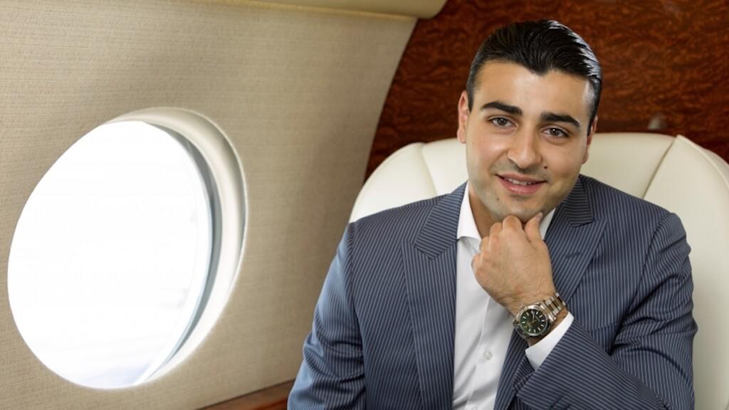 СЕО и основатель компании JetSmarter Сергей Петроссов. Фото: JetSmarter