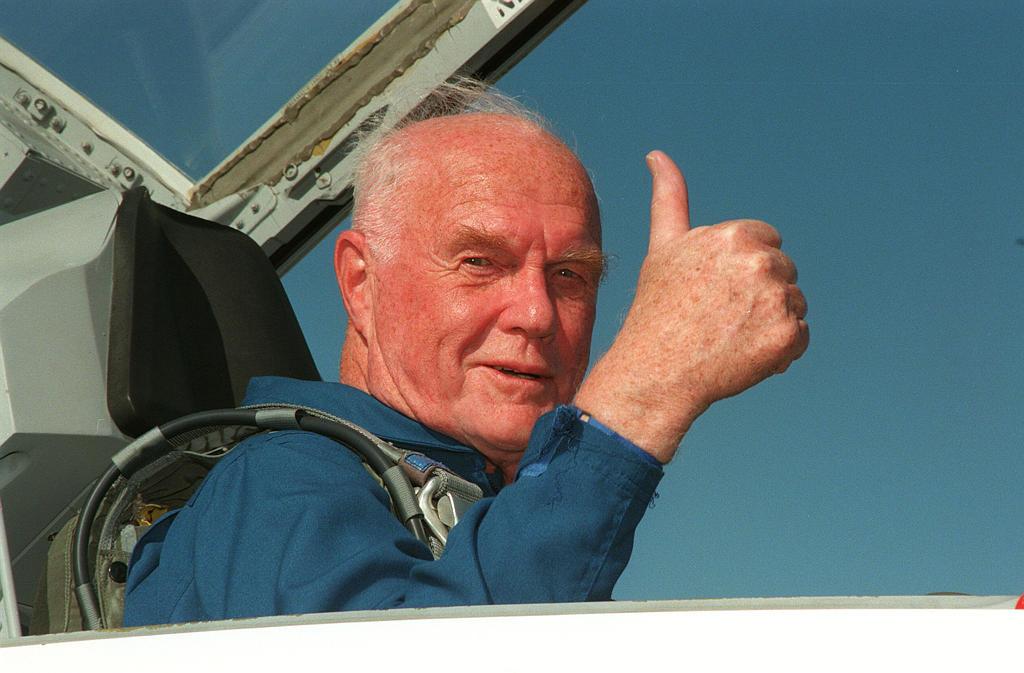 Гленн стал перым американским астронавтом, совершившим орбитальный космический полет. Фото: nasa.gov
