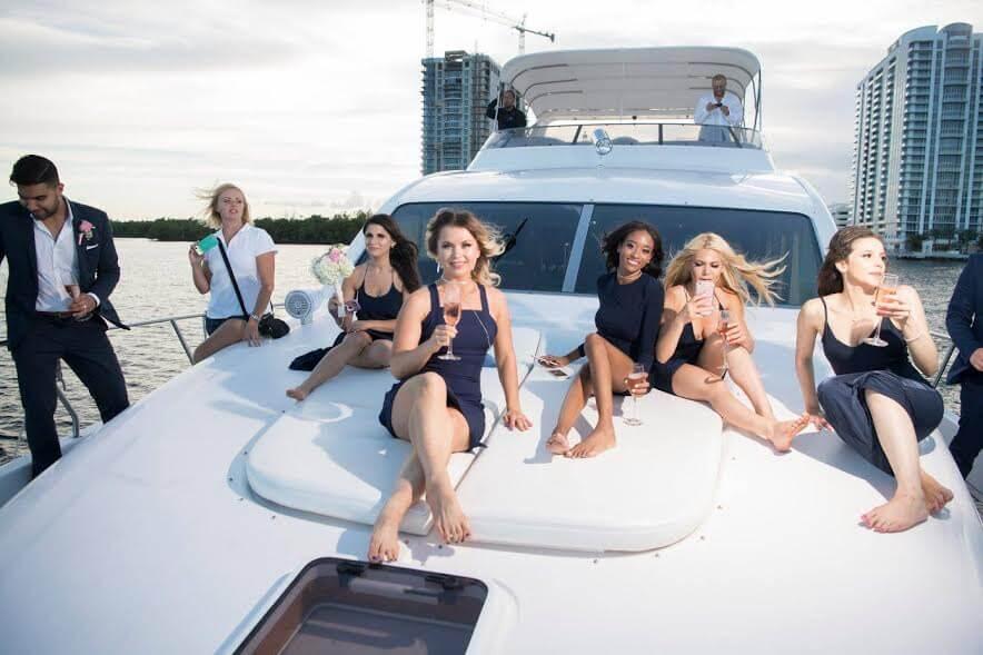 На яхте можно организовать любое событие. Фото: из личного архива Aveida Events