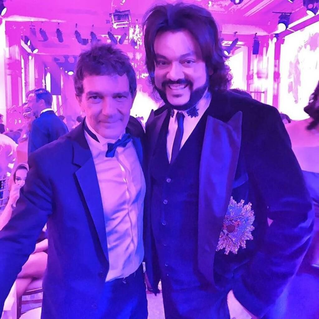 Антонио Бандерас и Филипп Киркоров. Фото: Instagram