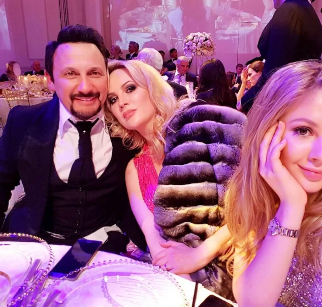 Стас и Инна Михайловы с дочкой Евой Канчельскис. Фото: Instagram
