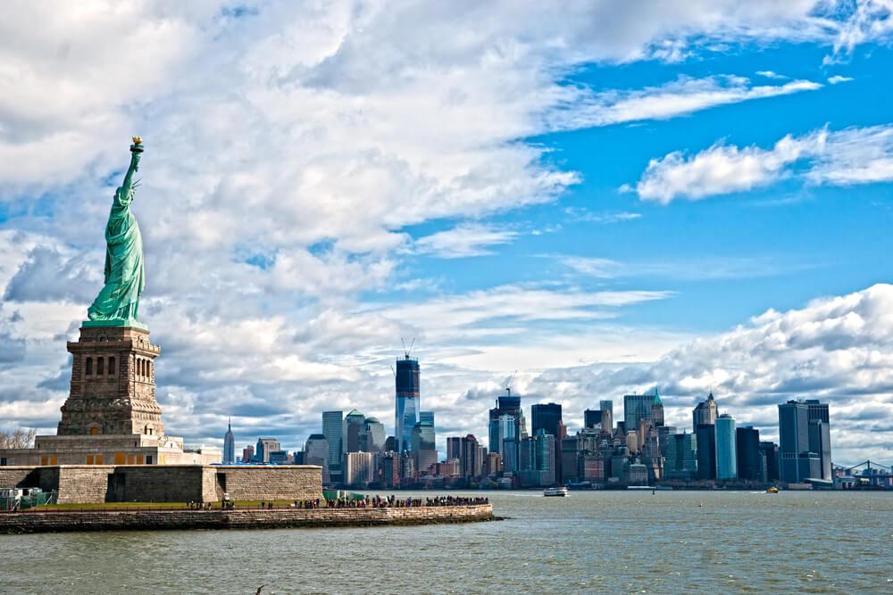 Статуя свободы в Нью-Йорке. Фото: Depositphotos