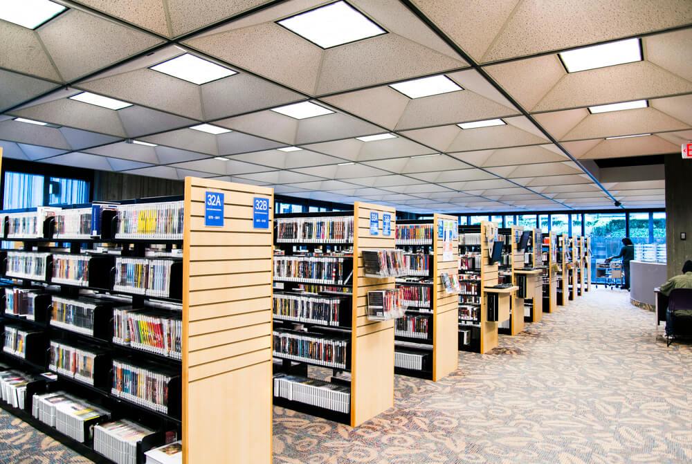 Публичная библиотека в Орландо, штат Флорида. Фото: Depositphotos