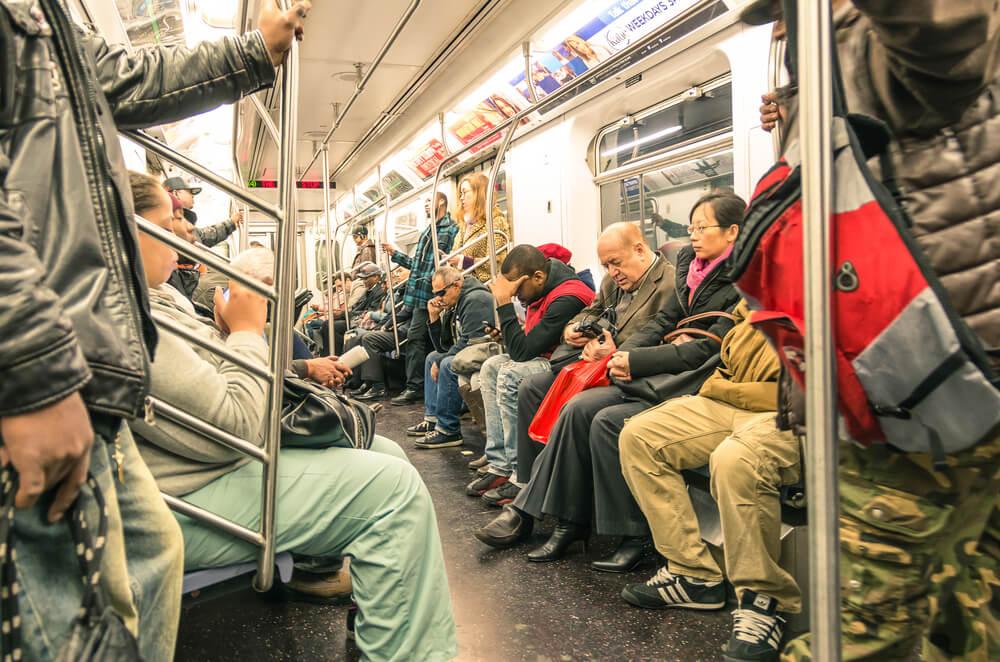 Метро в Нью-Йорке. Фото: Depositphotos