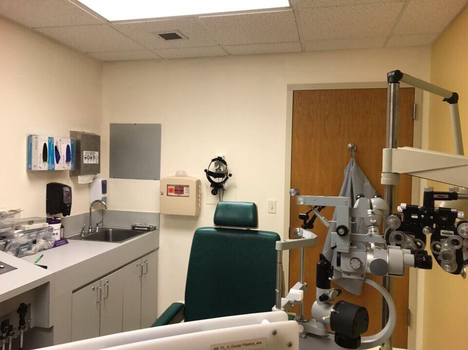 Обычный кабинет в глазной клинике. Фото: из личного архива автора