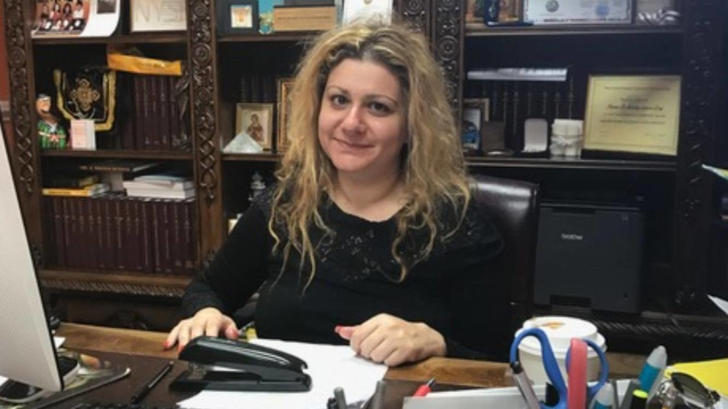 In 2011, Ilona Jamgarova became the best female lawyer in the opinion of the New York State Assembly. Photos from the personal archive