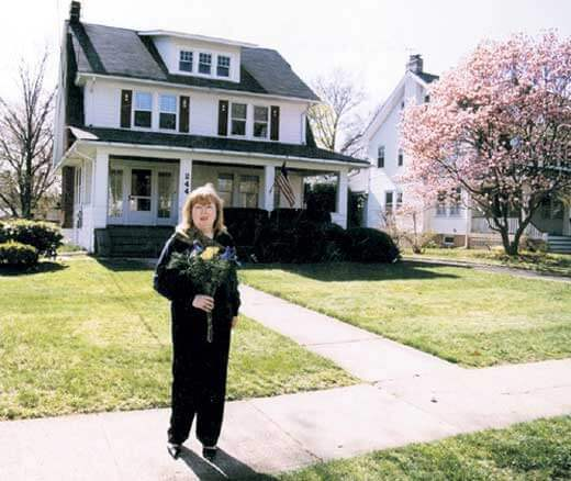 Дом Елены Соловей в США.