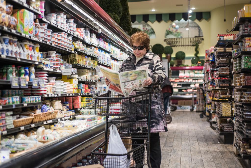 Русский магазин на Брайтон-Бич. Фото: Павел Терехов
