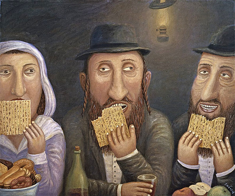 Иллюстрация: Владимир Любаров / Еврейское счастье