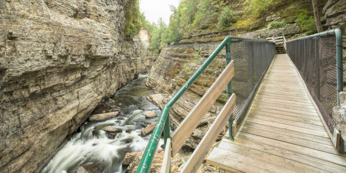 Ausable Chasm – Keeseville Фото: Flickr