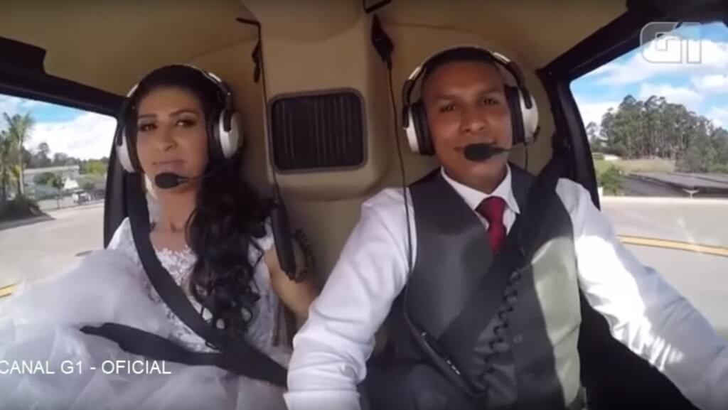 Wedding Helicopter Crash.The Bride Died During A Helicopter Crash On Their Wedding Day Video