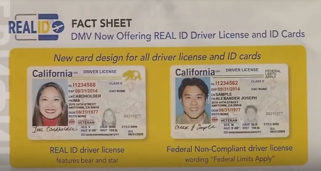 ca drivers license real id