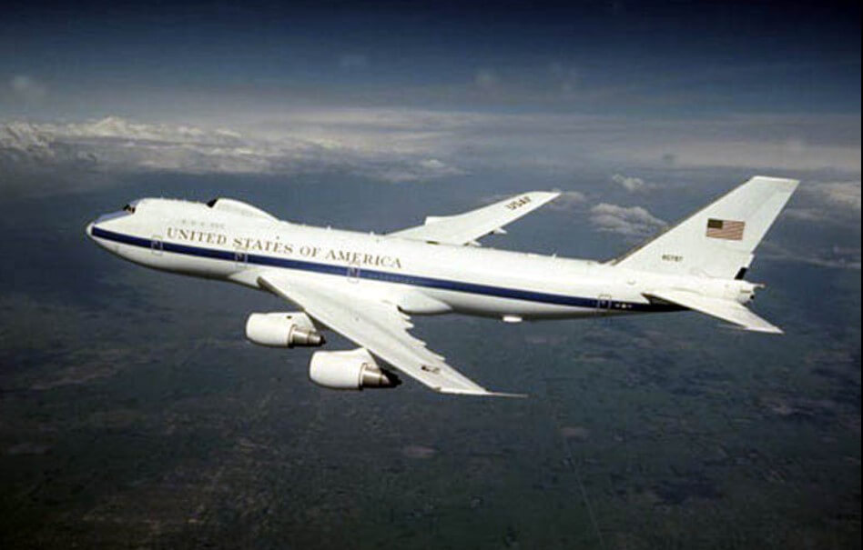 Aircraft Doomsday Lifted Into The Sky Over The United States