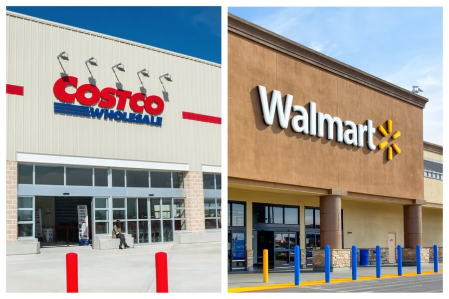 Costco or Walmart: where it is more profitable to buy
